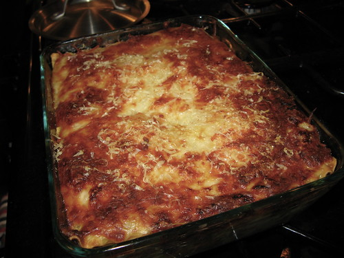 Root Vegetable & Sausage Lasagna