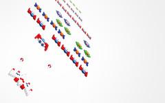 galaga (Pixel Fantasy) Tags: wallpaper game arcade retro galaga