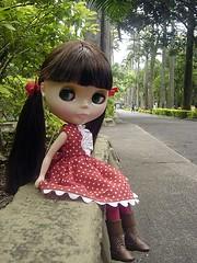 Maria Chiquinha se deu muito bem!! Seu primeiro passeio foi no Zoo!! =0)
