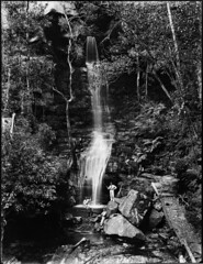 Three men fishing at the foot of a waterfall (Powerhouse Museum Collection) Tags: longexposure trees people fern tree men water forest waterfall fishing rocks stream wentworth acting powerhousemuseum empressfalls xmlns:dc=httppurlorgdcelements11 dc:identifier=httpwwwpowerhousemuseumcomcollectiondatabaseirn385725