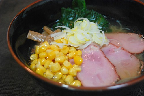 ナカキ食品 ラーメン蒟蒻 塩味:全景