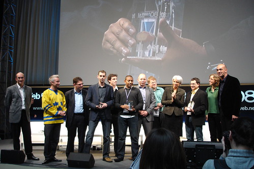 LeWeb StartUp competition winners