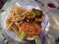 Carolina curly burger