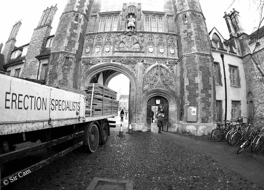 The biggest Cambridge college