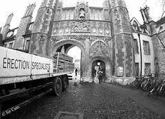 The biggest Cambridge college (Sir Cam) Tags: cambridge university trinitycollege sircam lordrees