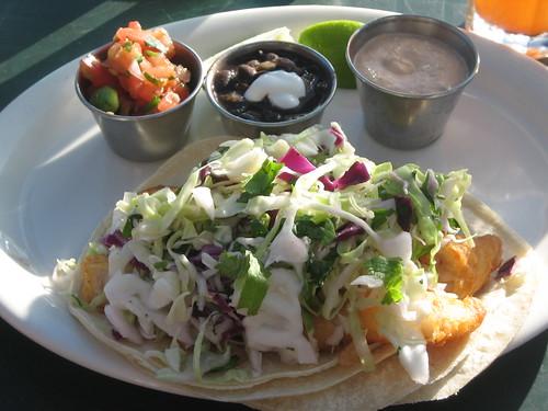 Fish Tacos at Shoreline