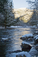 Tilton River in Winter (pat-trick) Tags: winter snow ice nature washington northwest scenic rivers pacificnorthwest cascade icicles mountians eastlewiscounty