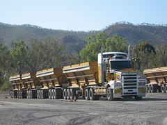 Kiernan IES Kenworth T650 quad side tipper (Black thunder_84) Tags: truck transport group australia ies tipping roadtrain kenworth t650 rosskiernan