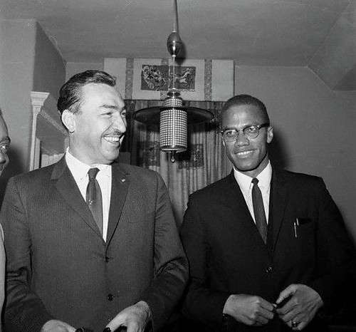 Harlem Congressman Adam Clayton Powell along with Malcolm X on March 16, 1964 at the Siloam Presbyterian Church in Brooklyn. by Pan-African News Wire File Photos