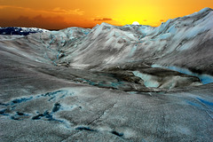 A Glacier sunset (JimBoots) Tags: 1 batch potporri