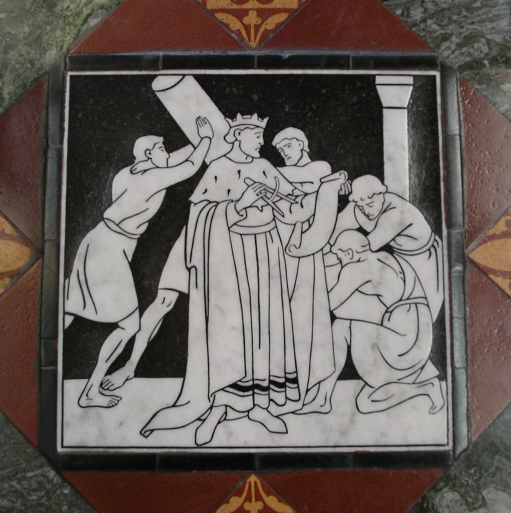 Gloucester Cathedral Floor Tile
