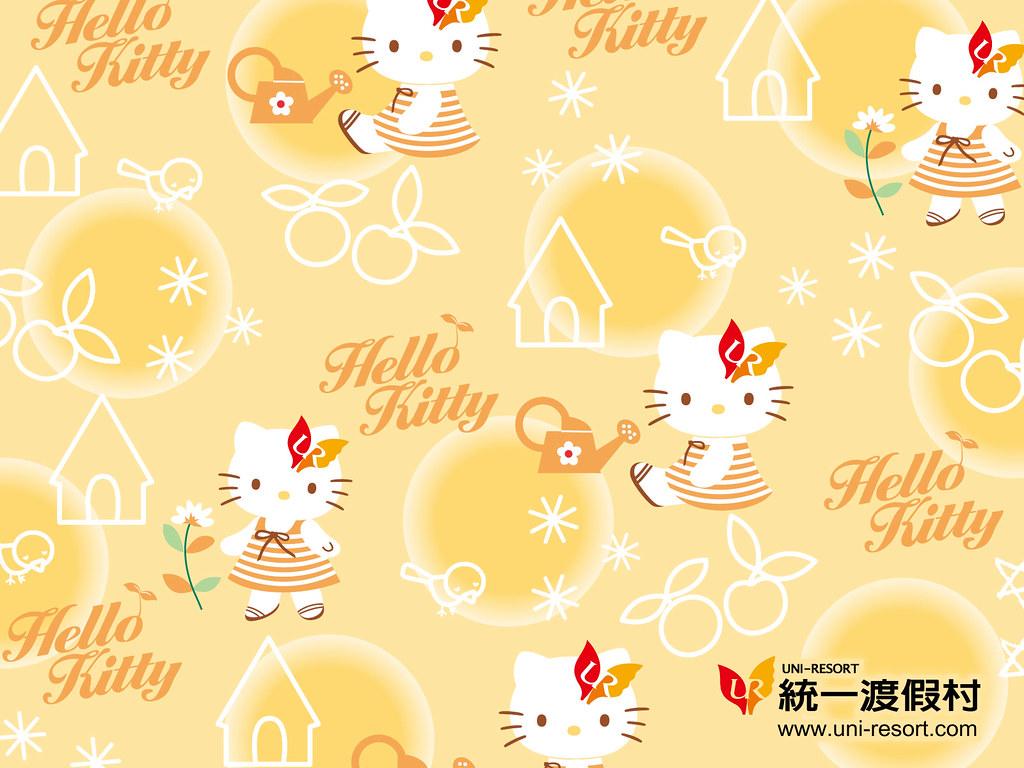 Wallpaper Hello Kitty Uni Resort Cute Things Tags Pink Hk