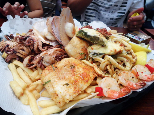 Sydney Dish Market Seafood Platter