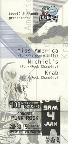 Miss America + Nichiel's + Krab