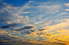 Rhapsody of Sky (puthoOr photOgraphy) Tags: sunset sky lightroom westbay skyshot dohaqatar d90 adobelightroom lightroom3 amazingqatar puthoor amazingdoha gettyimagehq