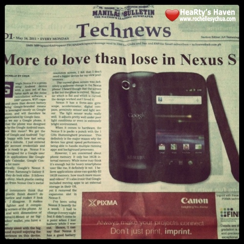 more to love than lose in Nexus S