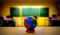 ladies and gentlemen we are floating in space (japanese forms) Tags: blue kids lomo lomography globe dof classroom bokeh sphere planet blackboard fauxmo pencilsharpener planetearth spaceistheplace spiritualized blackboards lomographic ladiesandgentlemenwearefloatinginspace sonyαnex5 ©japaneseforms2011