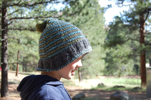 the hat I knit in March