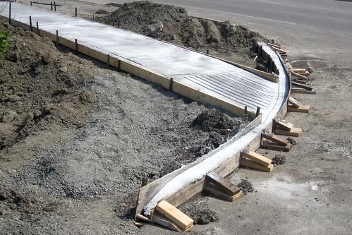Бордюры своими руками из бетона