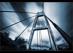/\ (Chrisconphoto) Tags: longexposure bridge sky canon mood sigma wideangle drama toned sthelens sherdley weldingglass sherdleypark