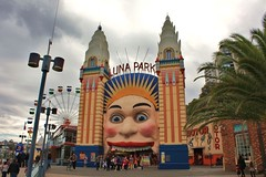 Luna Park, Sydney.