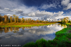 In Search of Clarity (James Neeley) Tags: morning landscape tetons hdr grandtetonnationalpark gtnp schwabacherslanding 5xp jamesneeley
