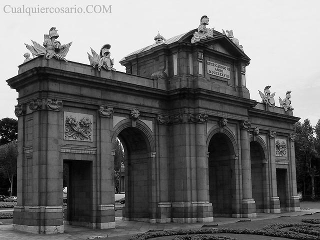Una visión de Madrid - La Puerta de Alcalá