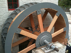 """Water Wheel - Ballacregga Corn Mill • <a style=""""font-size:0.8em;"""" href=""""http://www.flickr.com/photos/95060147@N06/13016691095/"""" target=""""_blank"""">View on Flickr</a>"""