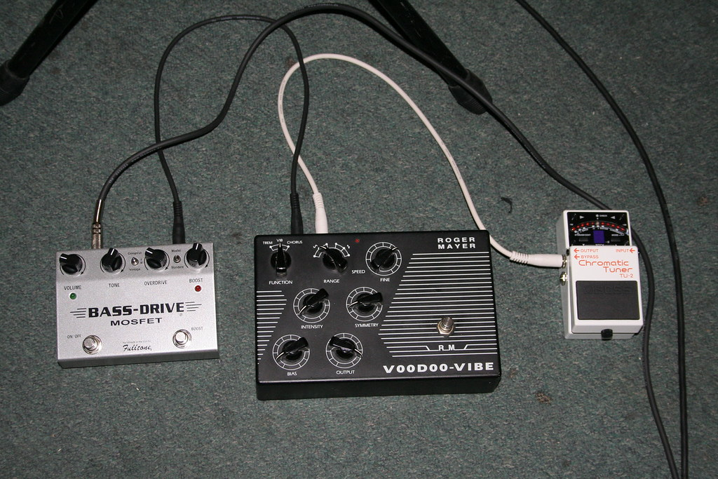My Pedal Set Up