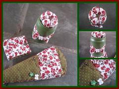 KIT COSTURA FLORAL (Pedao de Amor) Tags: kit tesoura tecido costura costureira alfineteiro pedaodeamor portatesouras