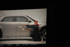 Monitor (Super Fuzz) Tags: california film beach car set digital studio bay long shoot display stage south turntable monitor commercial macbeth assistant cameraman clapper