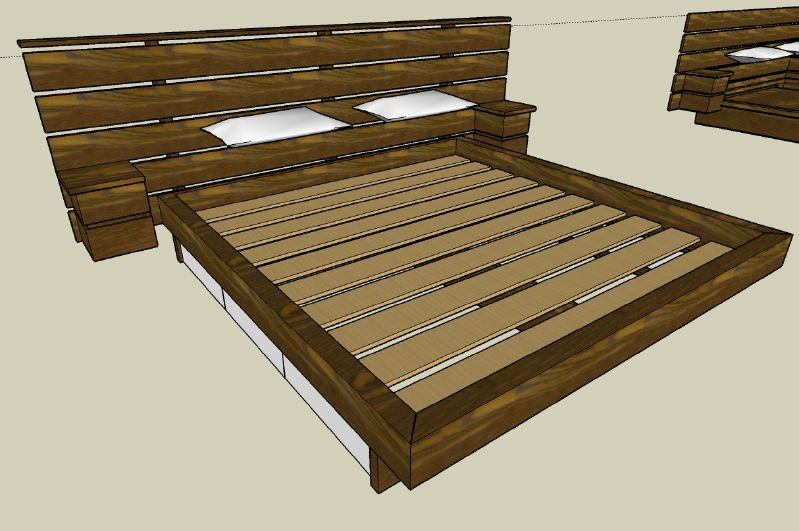 Ok here are some preliminary images of the bed. I havn't really ...