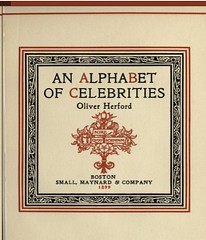 Open Library: Details: An alphabet of celebrities