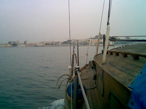 Neilan entrando a Cartagena
