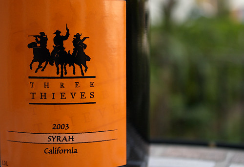 2003 Three Thieves Syrah