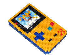 Pokemon Gameboy Color 3D Bead Sprite (Doctor Octoroc) Tags: nintendo videogames gameboy gameboycolor hamabeads perlerbeads beadsprite doctoroctoroc
