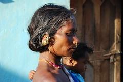 Raja Bharoja Mother and Child (Patrice and Greg) Tags: india hill tribe orissa hilltribe bonda saora gadaba paraja kondh koraput rajabharoja bharoja