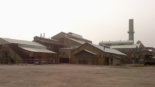 廢棄的糖廠