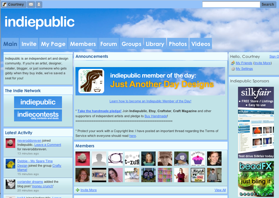 Indiepublic Featured Member