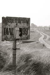 Rescue (Mark) Tags: rescue sign telephone 999 walberswick