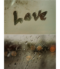 Rainy Days on The Road (.Bradi.) Tags: love window car rain drops diptych letters roadtrip goodtimes bokehcircles happybokehwednesday fortheloveofbokeh ibelieveitwasonly8hours whichisnttoobadbecauseitsastretchoftimeimsomewhatusedtodrivinganyway butmostofthetimeicouldntmoveorseetheother3girlsinthecarp writinginthefog everytimeiseethisiwanttobreakoutintoallyouneedislovelove