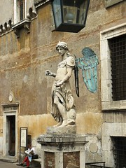Castillo SantAngelo, Roma (Don Perucho) Tags: roma statue lumix italia panasonic vaticano sculture medioevo santangelo catolicos antiguedad cristiandad dmcfx8 santasede