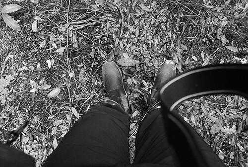 雨鞋第一次試乘