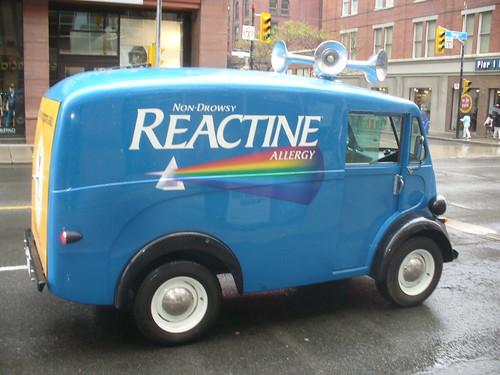 Reactine Allergy promo Truck