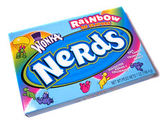 Wonka Nerds Rainbow Box