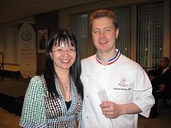 Pierre Hermé: Chef Sébastien Canonne, M.O.F. and me