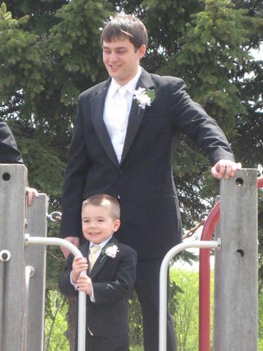 Nick & the groom