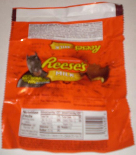 Batman Reese's PB Bat promoting The Dark Knight movie