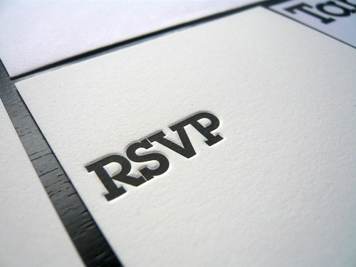 Baptism Invitation, RSVP & Table Card by AisleOne.