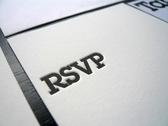 Baptism Invitation, RSVP & Table Card